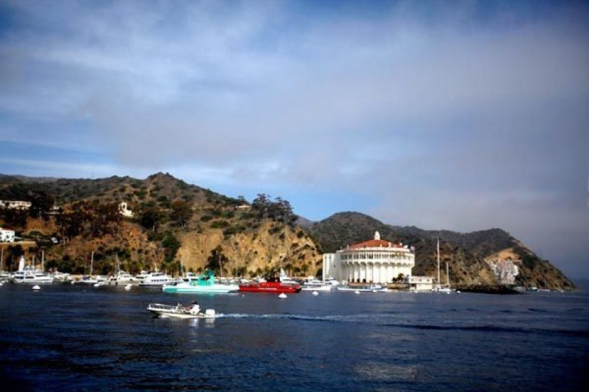 Catalina Island is seen in an undated file photo. (Francine Orr / Los Angeles Times)