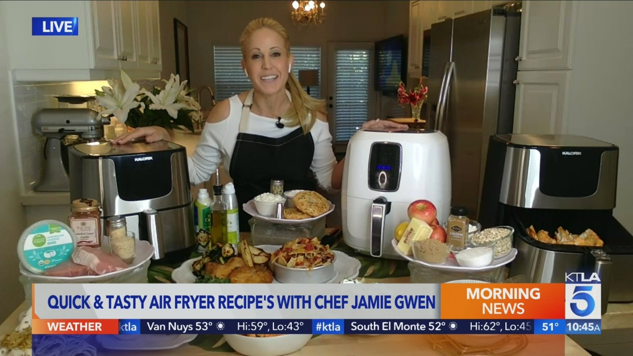 Chef Jamie Gwen shares delicious recipes for that air fryer you don't know what to do with