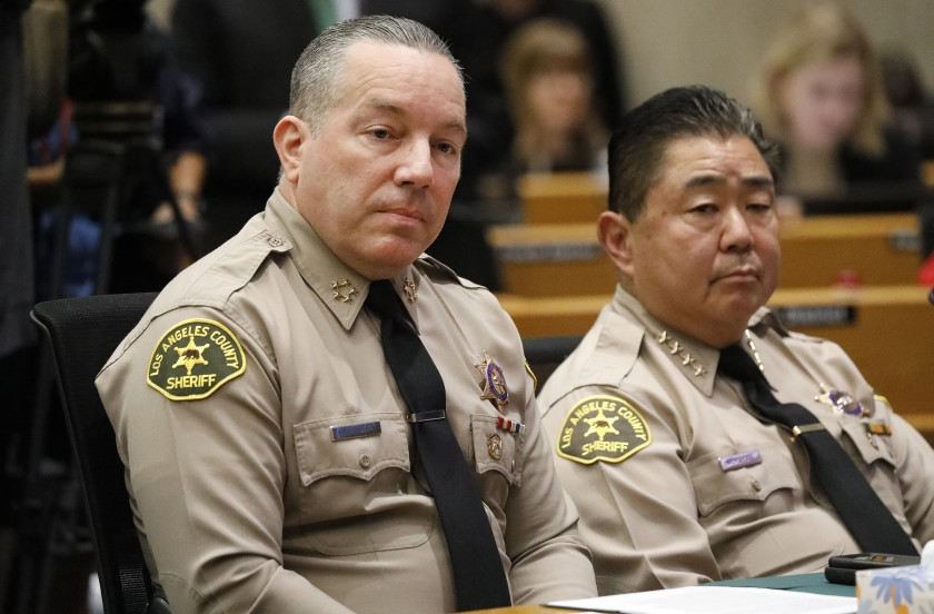 Undersheriff Tim Murakami allegedly used a Japanese racial slur to refer to employees of color. (Al Seib / Los Angeles Times)