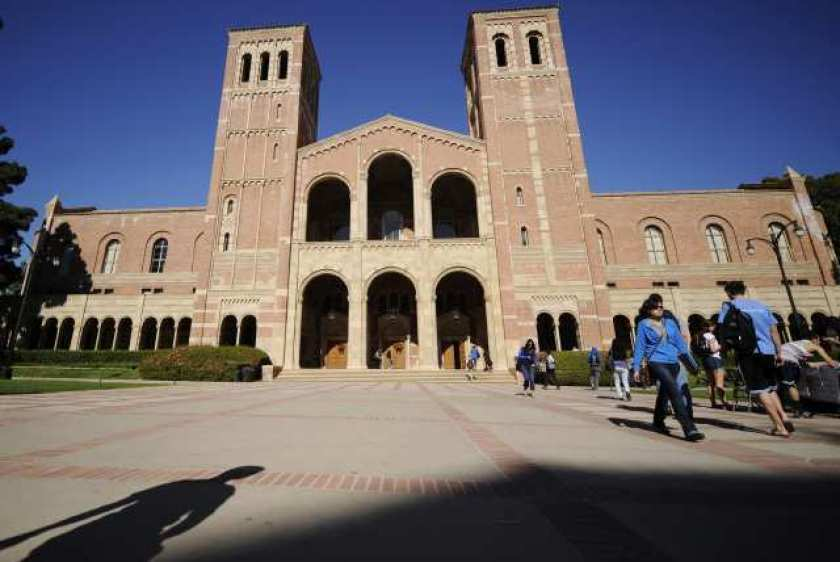 UCLA and the other nine UC campuses plan to welcome students back for mostly in-person classes starting this fall, the UC has announced.(Los Angeles Times )