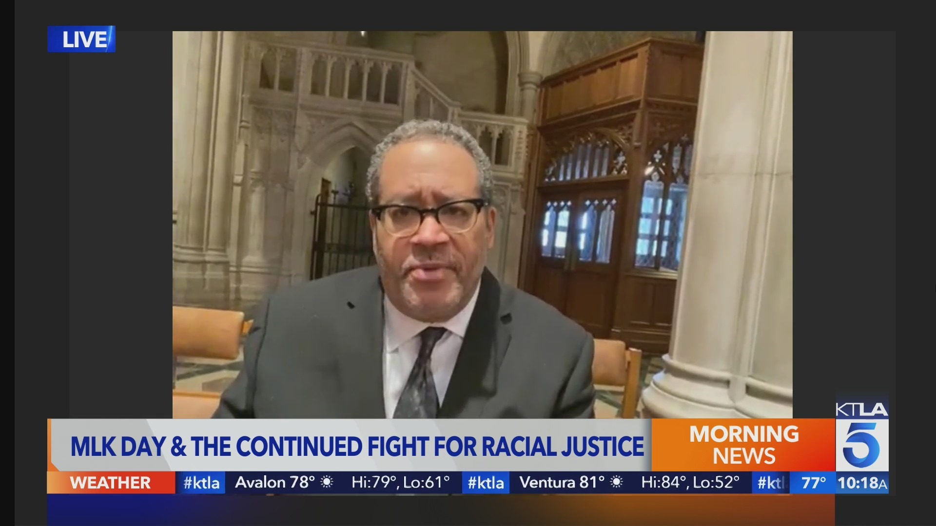 Dr. Michael Eric Dyson on MLK Day and the Continued Fight for Racial Justice
