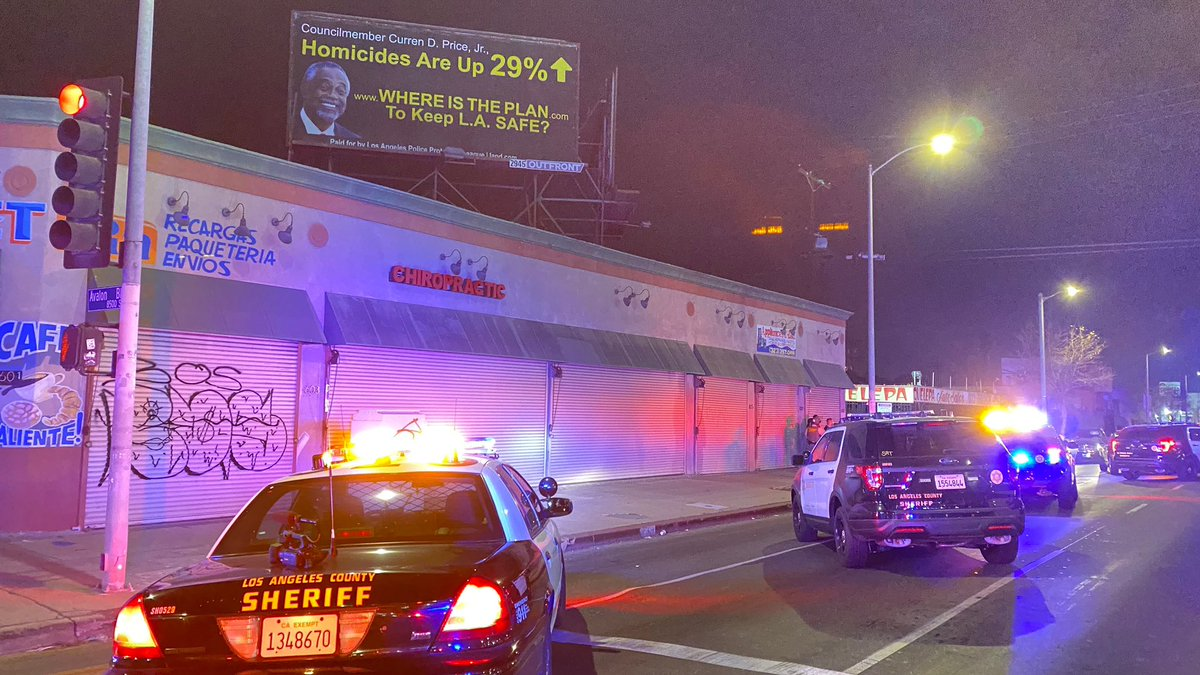 More than 160 people were cited after a party was shut down in South L.A. on Jan. 16, 2021. (Los Angeles County Sheriff's Department)