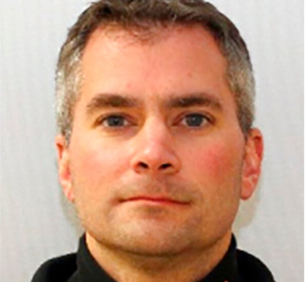 This undated image provided by the United States Capitol Police shows U.S. Capitol Police Officer Brian Sicknick, who died Thursday, Jan. 7, 2021, of injuries sustained during the riot at the Capitol. (United States Capitol Police via AP)