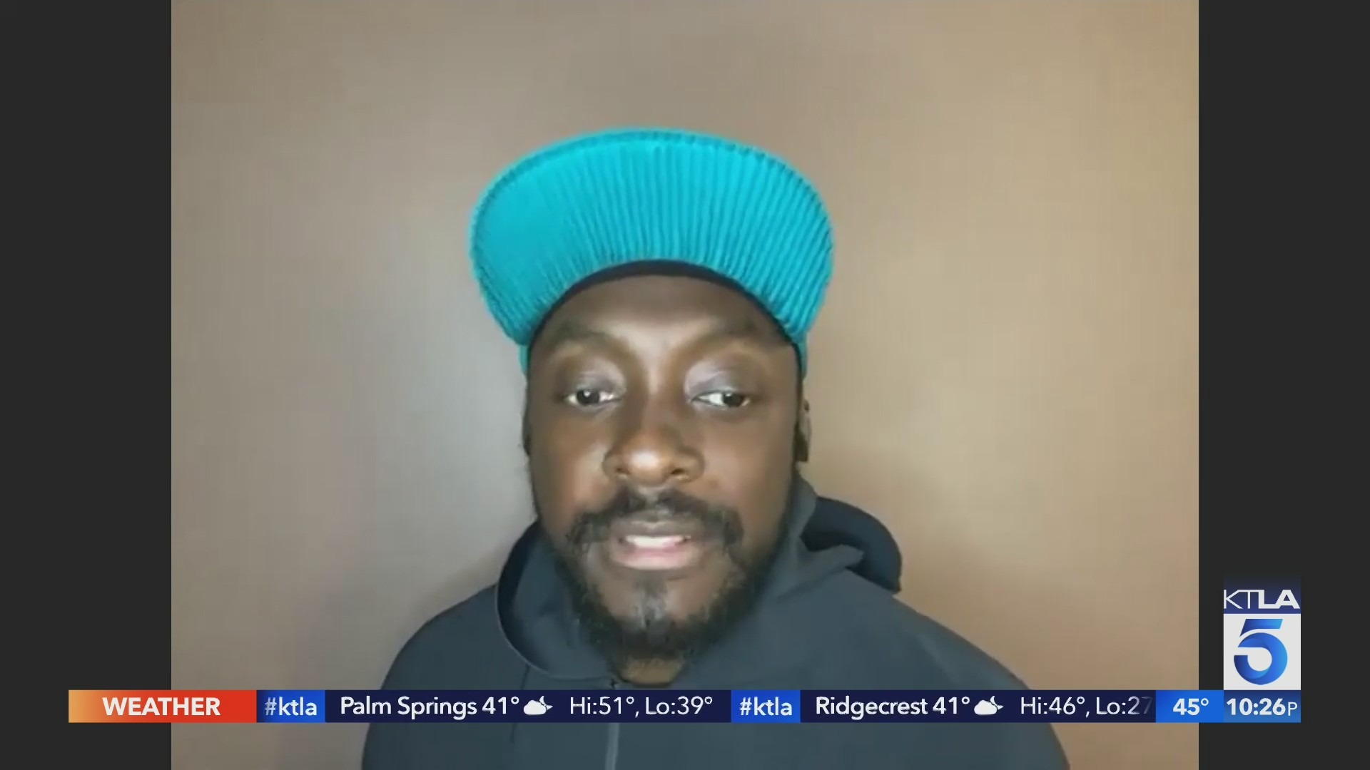 Will.i.am using his fame to give back to the community