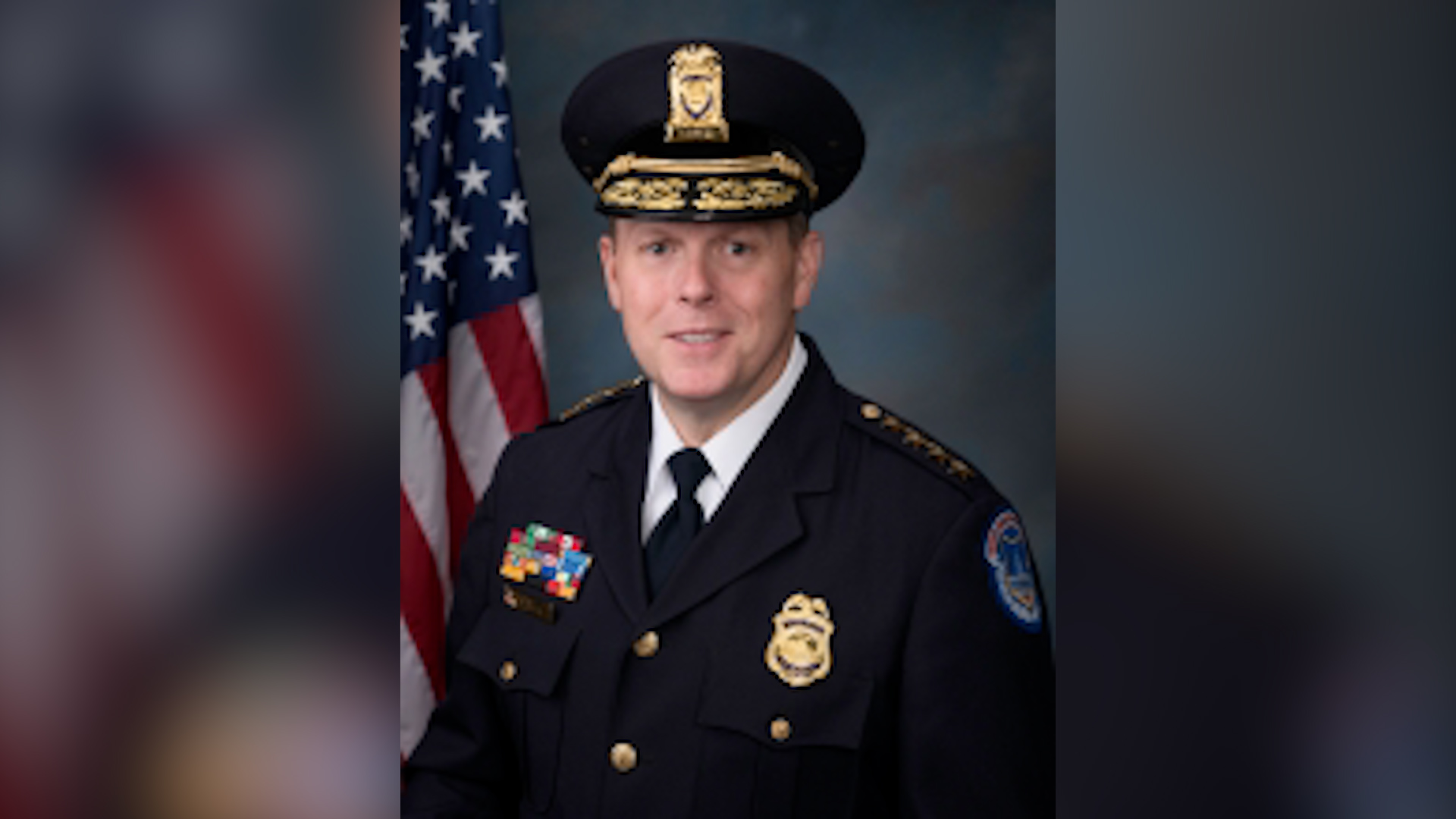 Capitol Police Chief Steven Sund is pictured in an undated photo on the agency's website. (U.S. Capitol Police)
