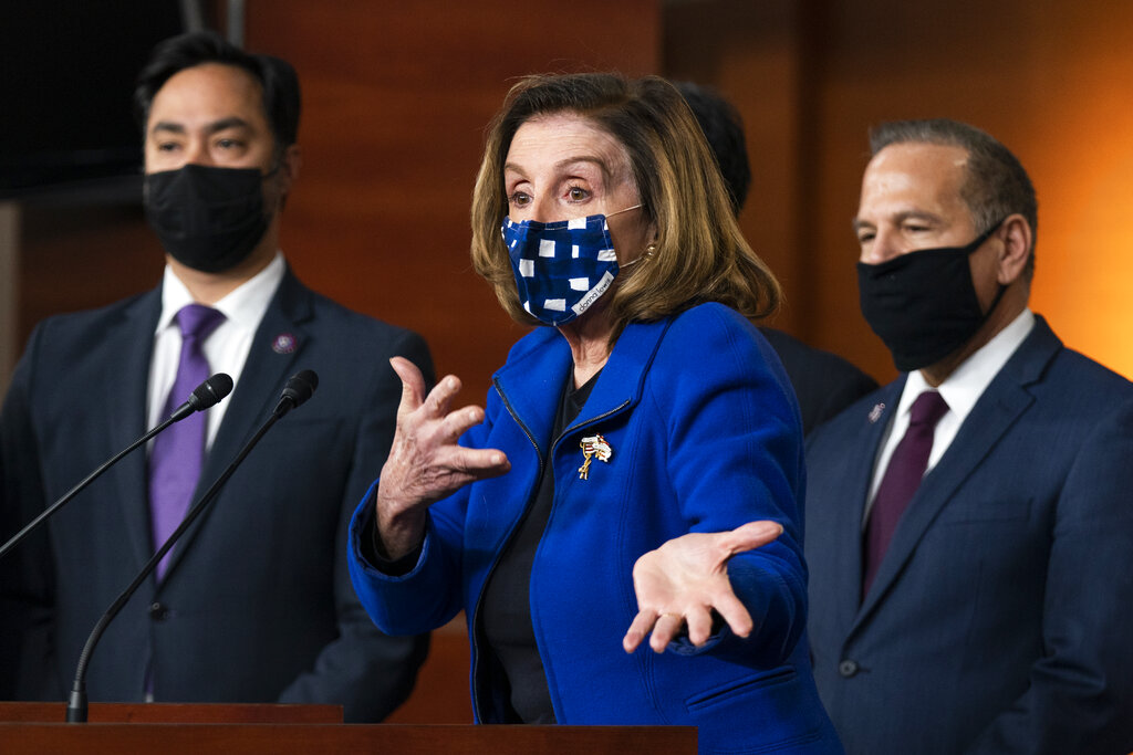 Nancy Pelosi says House will vote to limit Trumps war powers