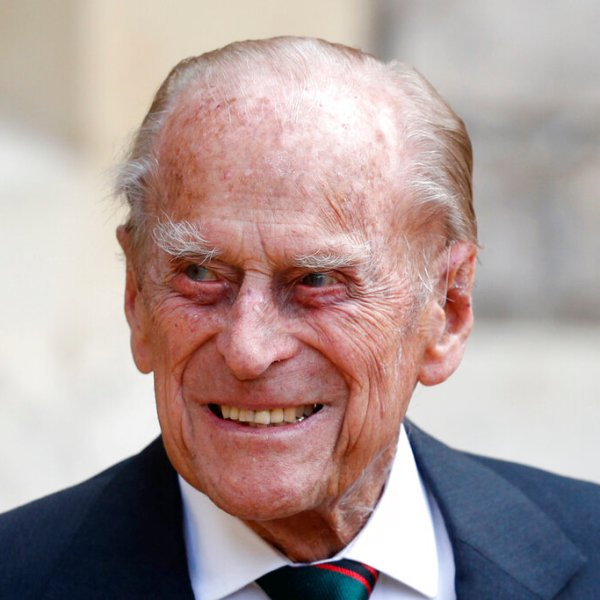 In this Wednesday July 22, 2020 file photo, Britain's Prince Philip arrives for a ceremony for the transfer of the Colonel-in-Chief of the Rifles from himself to Camilla, Duchess of Cornwall, at Windsor Castle, England. (Adrian Dennis/Pool via AP, File)