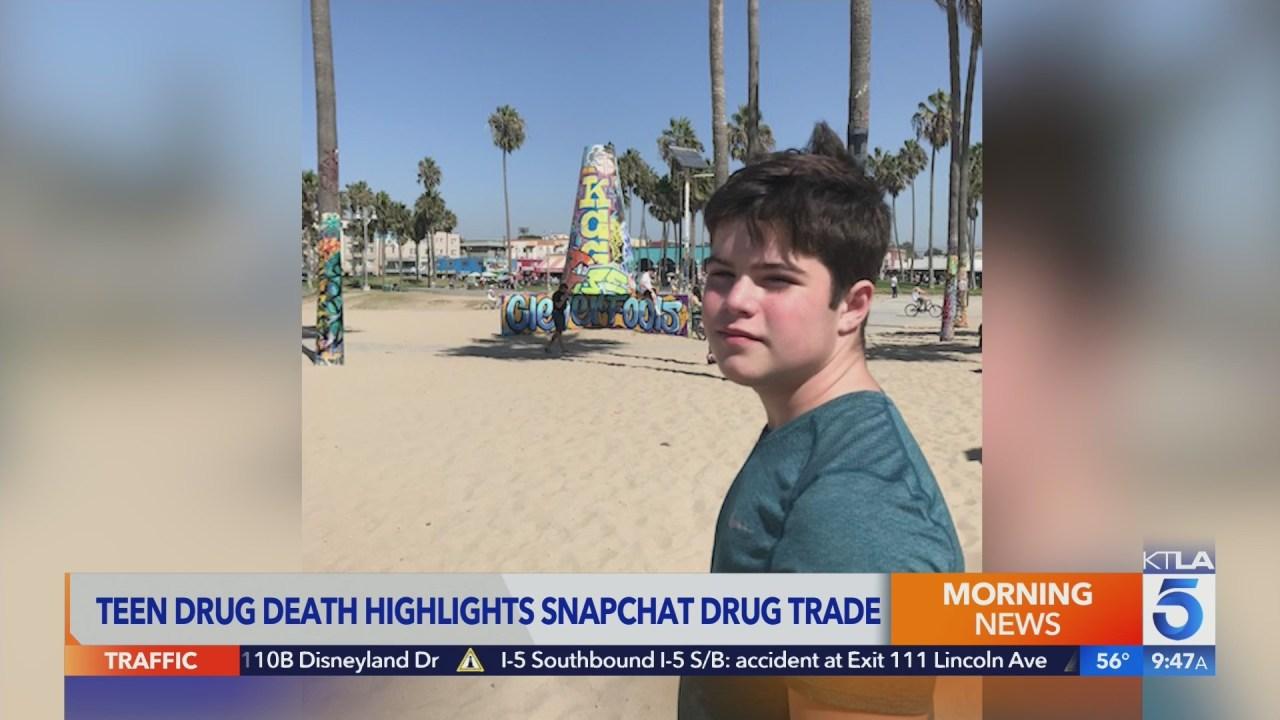 Dr. Laura Berman warns of Snapchat drug trade following death of 16-year-old son Sammy - KTLA