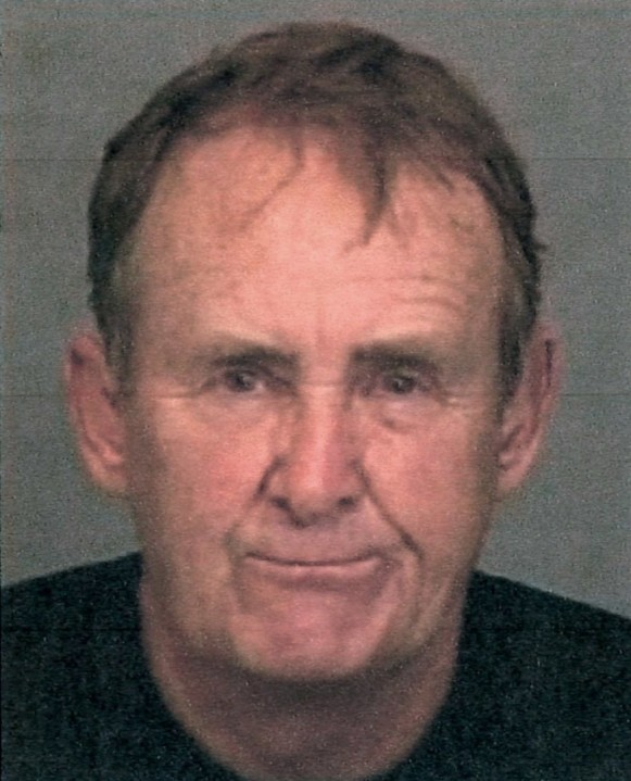 Dean Taylor is seen in a booking photo obtained by KTLA sister station KRON.
