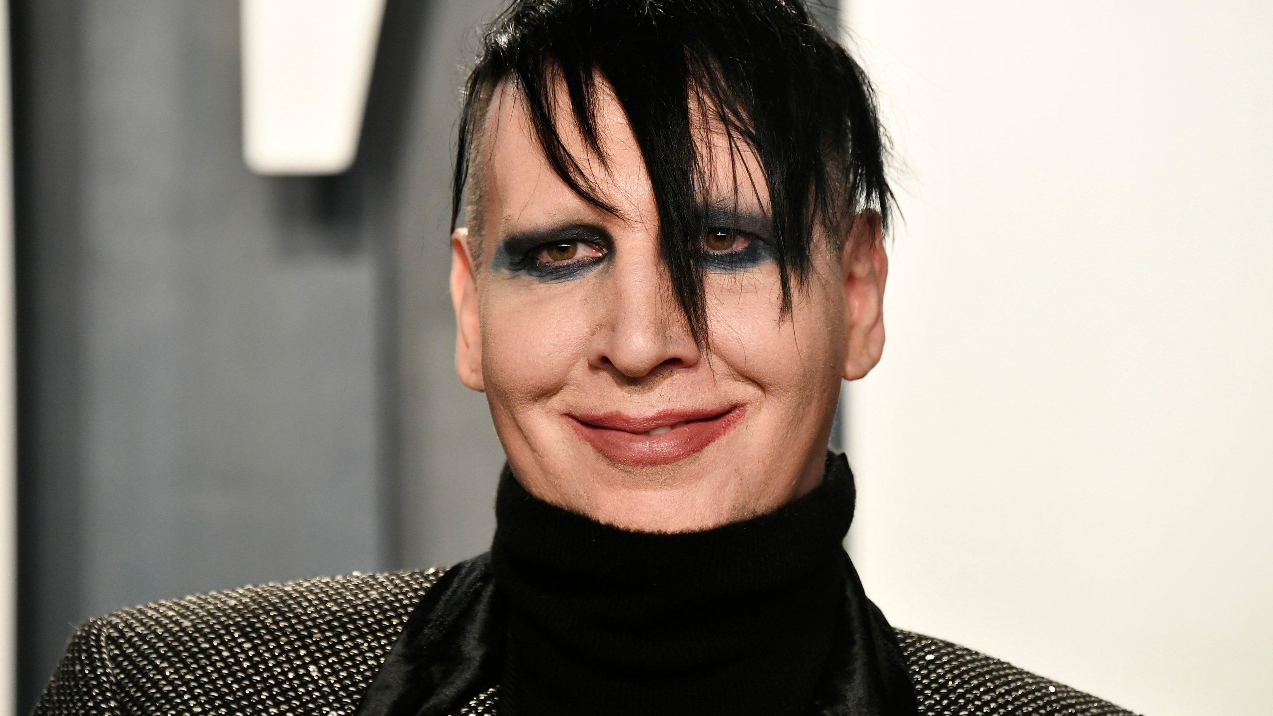 Marilyn Manson attends the 2020 Vanity Fair Oscar Party on Feb. 9, 2020, in Beverly Hills, California. (Frazer Harrison/Getty Images)
