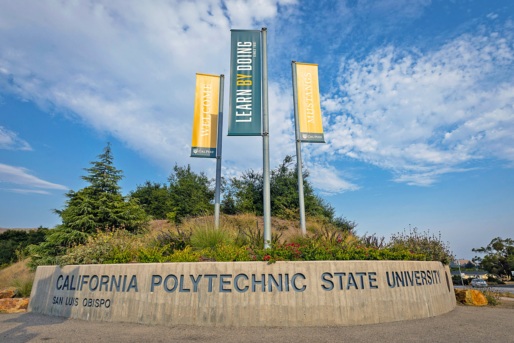 Cal Poly San Luis Obispo is seen in an undated photo from the university's Facebook page.