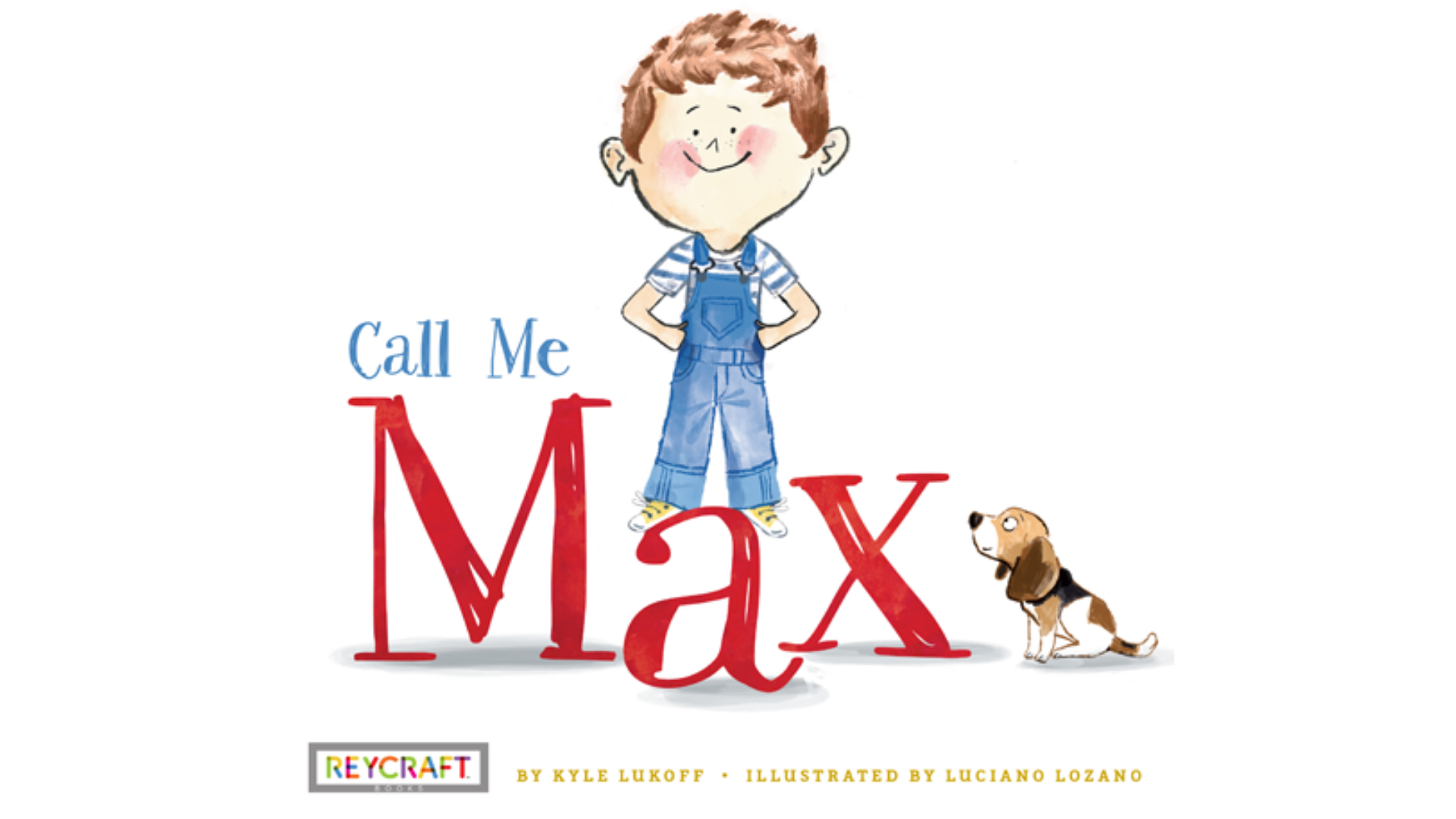 """The illustrated cover of the children's book """"Call Me Max"""" is seen in this image from the book's publisher, Reycraft Books."""
