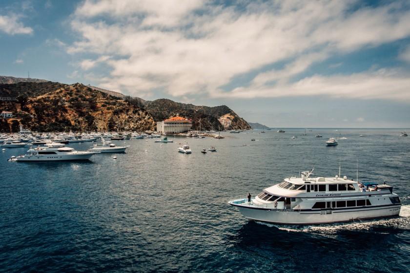 An undated photo shows Catalina Island's Avalon Harbor. (Catalina Express)