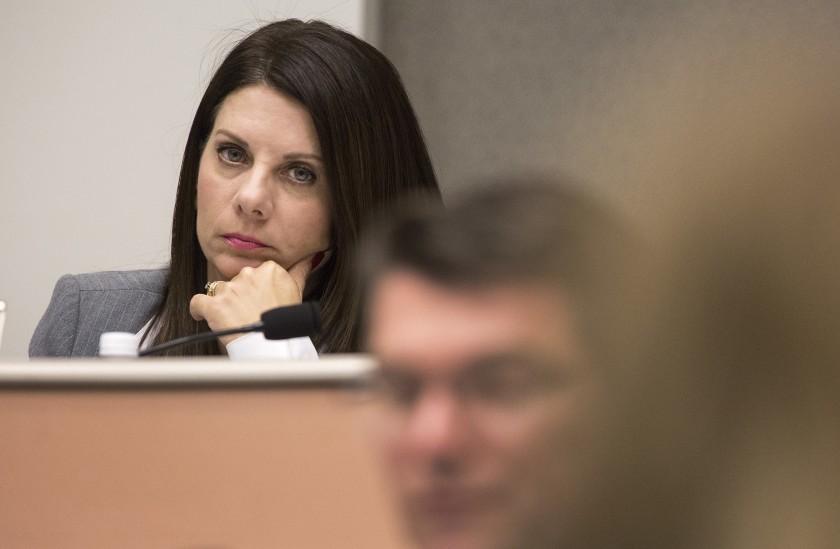 California state Sen. Melissa Melendez is seen in this undated photo. (Brian van der Brug / Los Angeles Times)