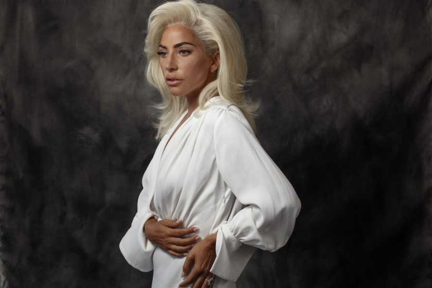 Pop star and Emmy Award-winning actress Lady Gaga in 2018. (Los Angeles Times)