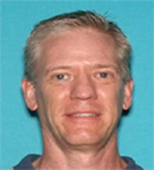 Brett Mohr is shown in a photo released by the LAPD on Feb. 15, 2021.