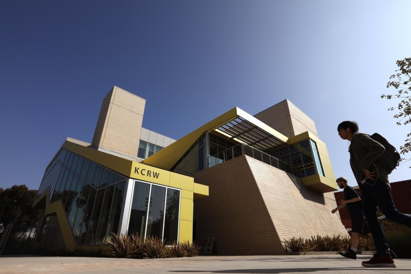KCRW headquarters in Santa Monica is seen in this undated photo. (Genaro Molina/Los Angeles Times)