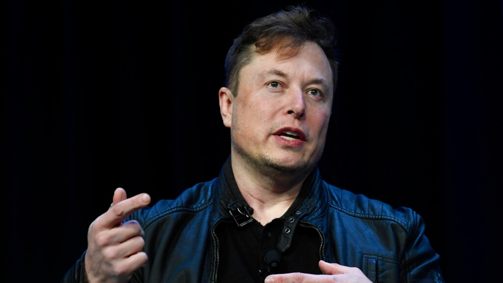 In this March 9, 2020 file photo, Tesla and SpaceX Chief Executive Officer Elon Musk speaks at the SATELLITE Conference and Exhibition in Washington. (AP Photo/Susan Walsh, File)