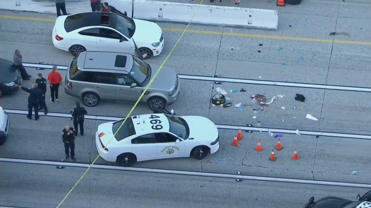 Shooting investigation prompts extended closure of 10 Freeway in Upland