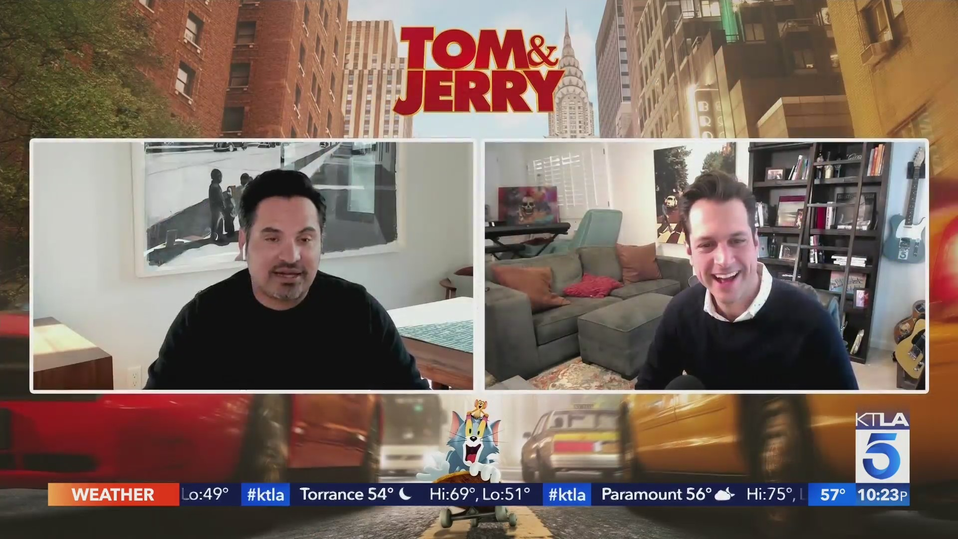 The Classic lovable cat and mouse duo 'Tom & Jerry' are back