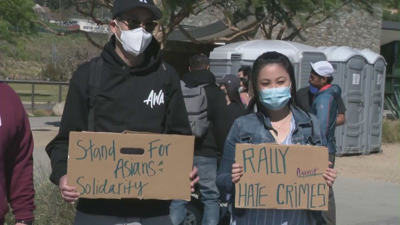 ktla.com: Activists speak out against spate of anti-Asian hate incidents at rally in L.A.'s Chinatown