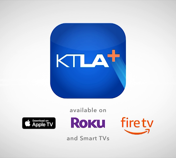 KTLA is introducing its new streaming video app for smart TV platforms, KTLA+, which has officially launched on Apple TV, Roku and Amazon Fire TV devices. (KTLA)