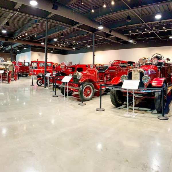 A photo shared by the Los Angeles County Fire Museum in Bellflower.
