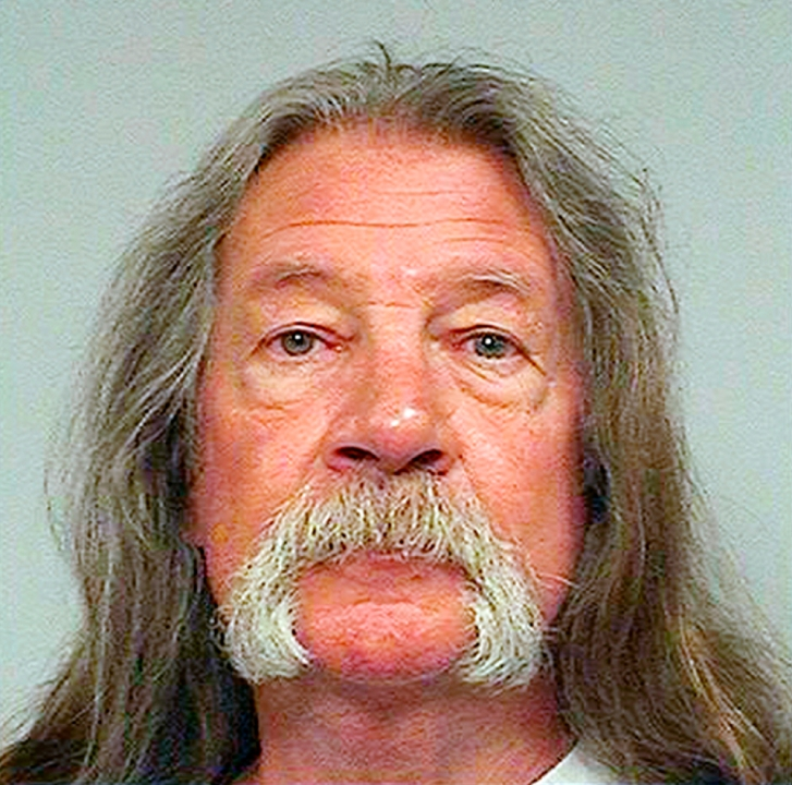 John Sullivan is seen in this Oct. 8, 2019, photo released by the California Department of Corrections and Rehabilitation.
