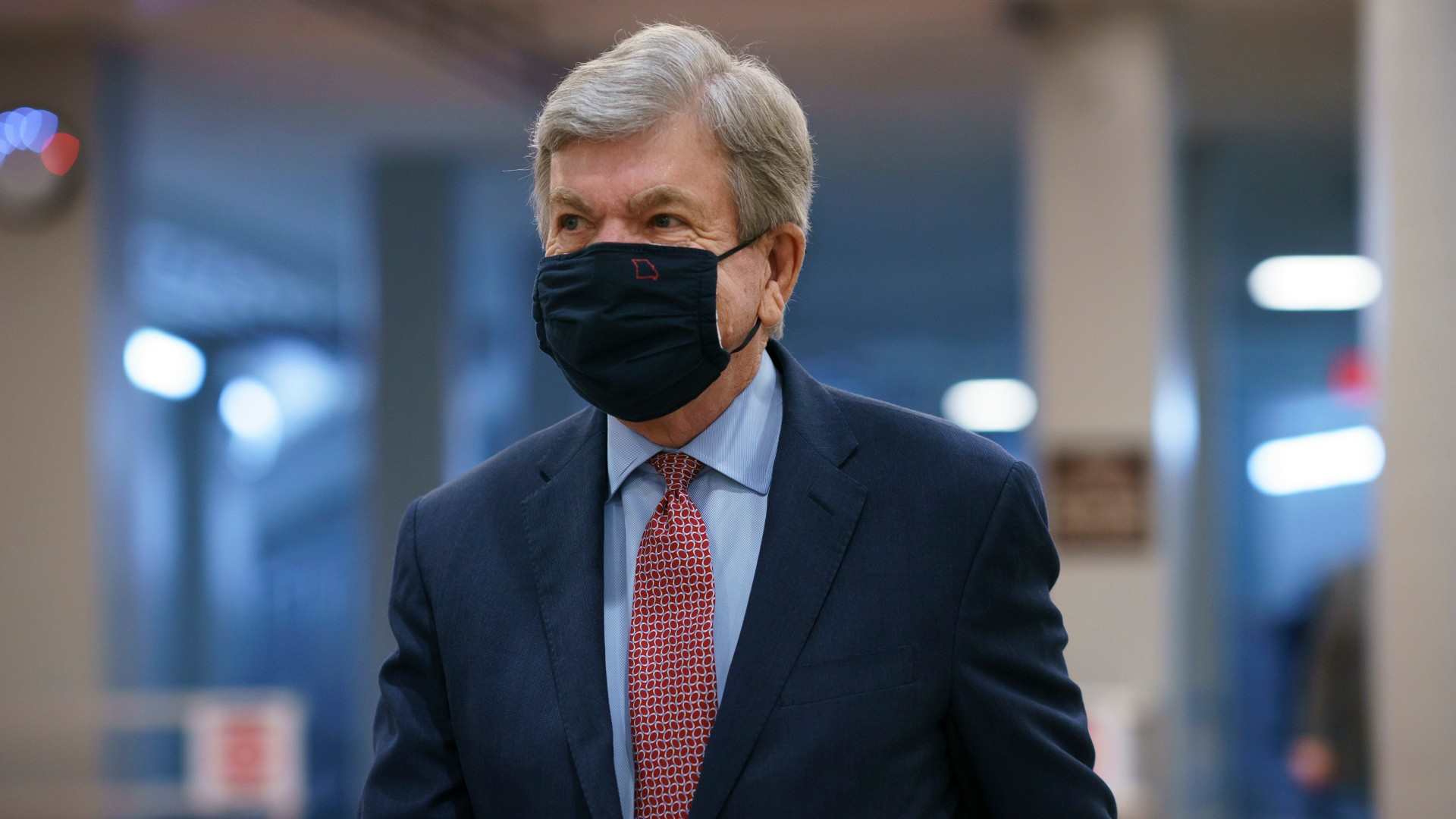 In this March 5, 2021, file photo, Sen. Roy Blunt, R-Mo., heads to the chamber as the Senate holds a voting marathon on the Democrats' $1.9 trillion COVID-19 relief bill that's expected to end with the chamber's approval of the measure, at the Capitol in Washington. Sen. Blunt says he will not seek a third term in the U.S. Senate. Blunt, who turned 71 in January, was widely expected to seek a third term in 2022. He made the surprise announcement in a video Monday, March 8, 2021. (AP Photo/J. Scott Applewhite File)