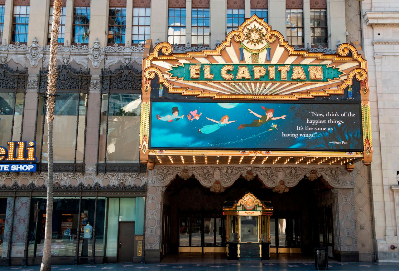 Iconic El Capitan Theatre reopens Friday after yearlong closure