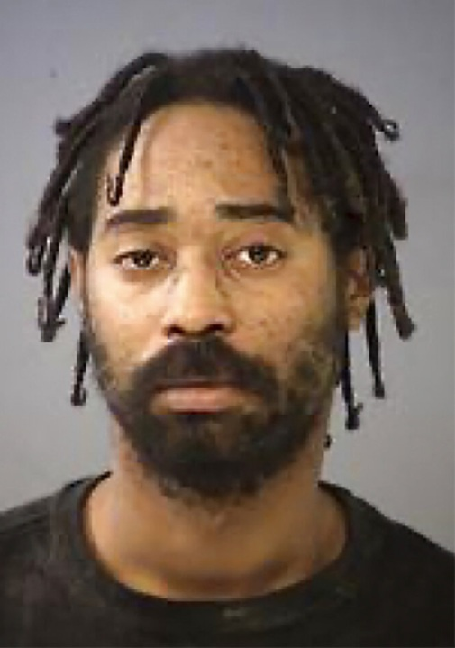 This undated photo provided by the Indianapolis Metropolitan Police Department shows Malik Halfacre.