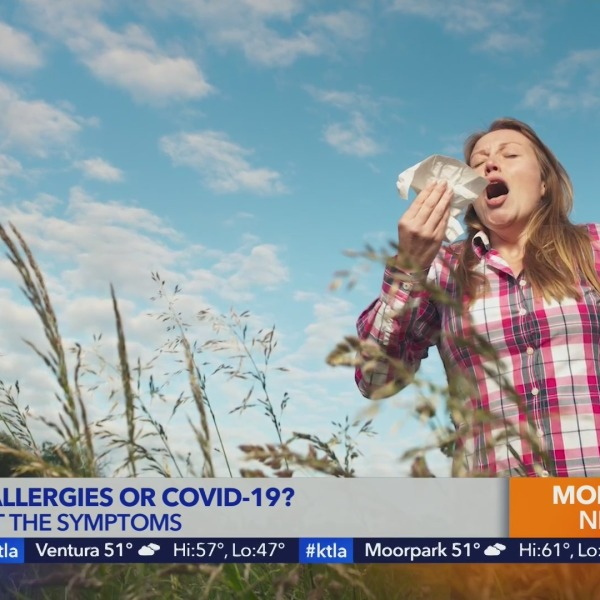 Seasonal allergies vs COVID