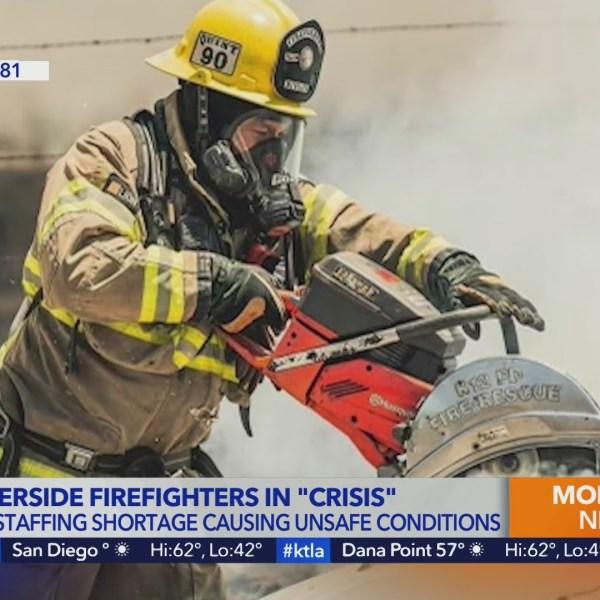 Cal Fire Riverside firefighters understaffed
