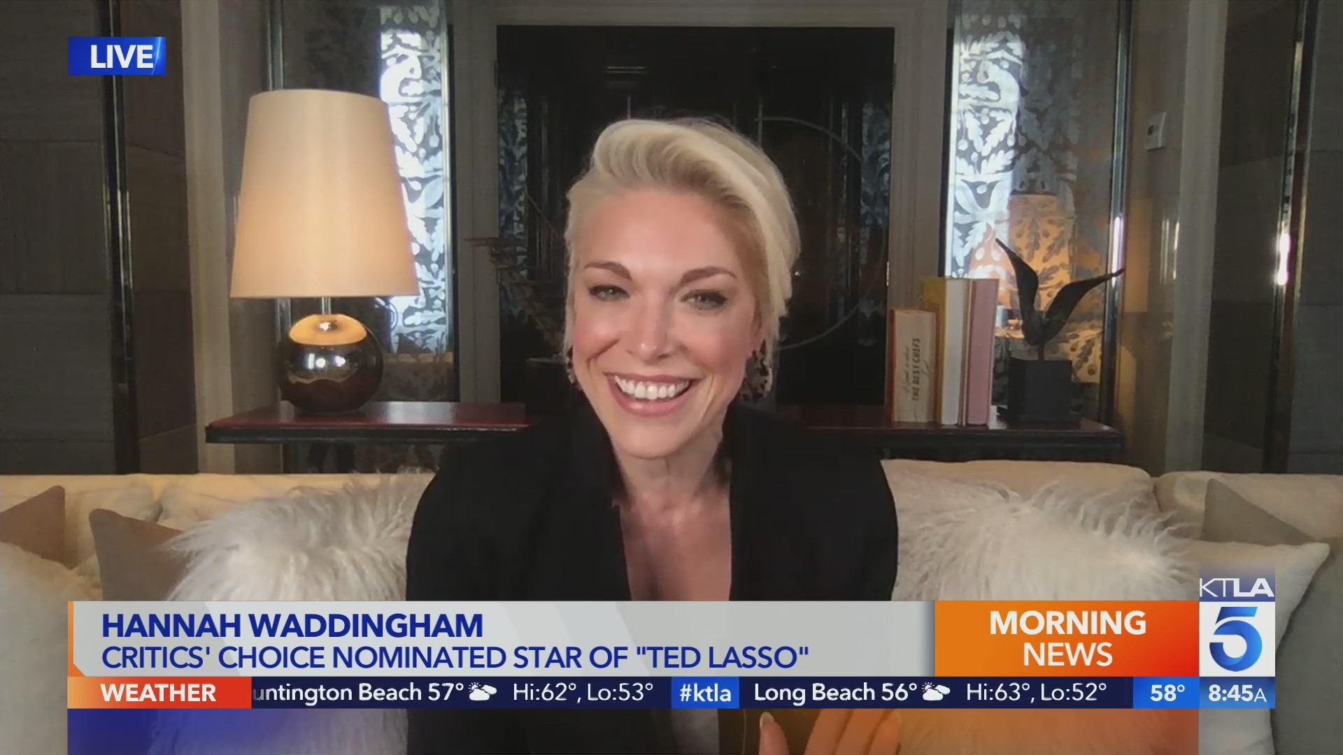 Ted Lasso star Hannah Waddingham