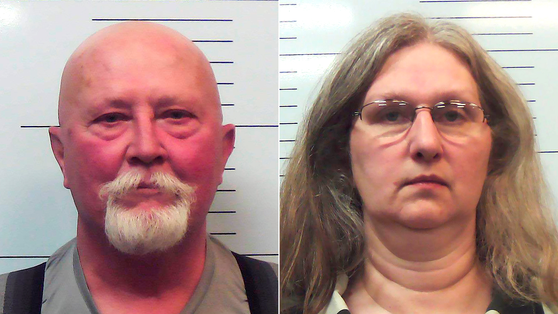 Boyd Householder, left, and Stephanie Householder are seen in undated photos provided by the Missouri Attorney General's Office.