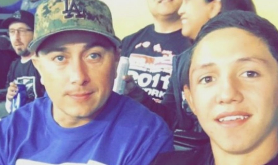 Two people killed in a fireworks explosion and house fire in Ontario, Alex and Cesar Paez, appear in an undated photo posted to a GoFundMe page.