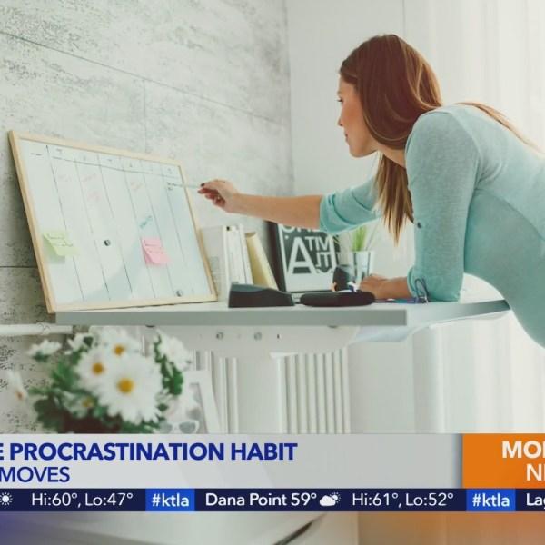 Mitchell Creasey shares tips to kick the procrastination habit