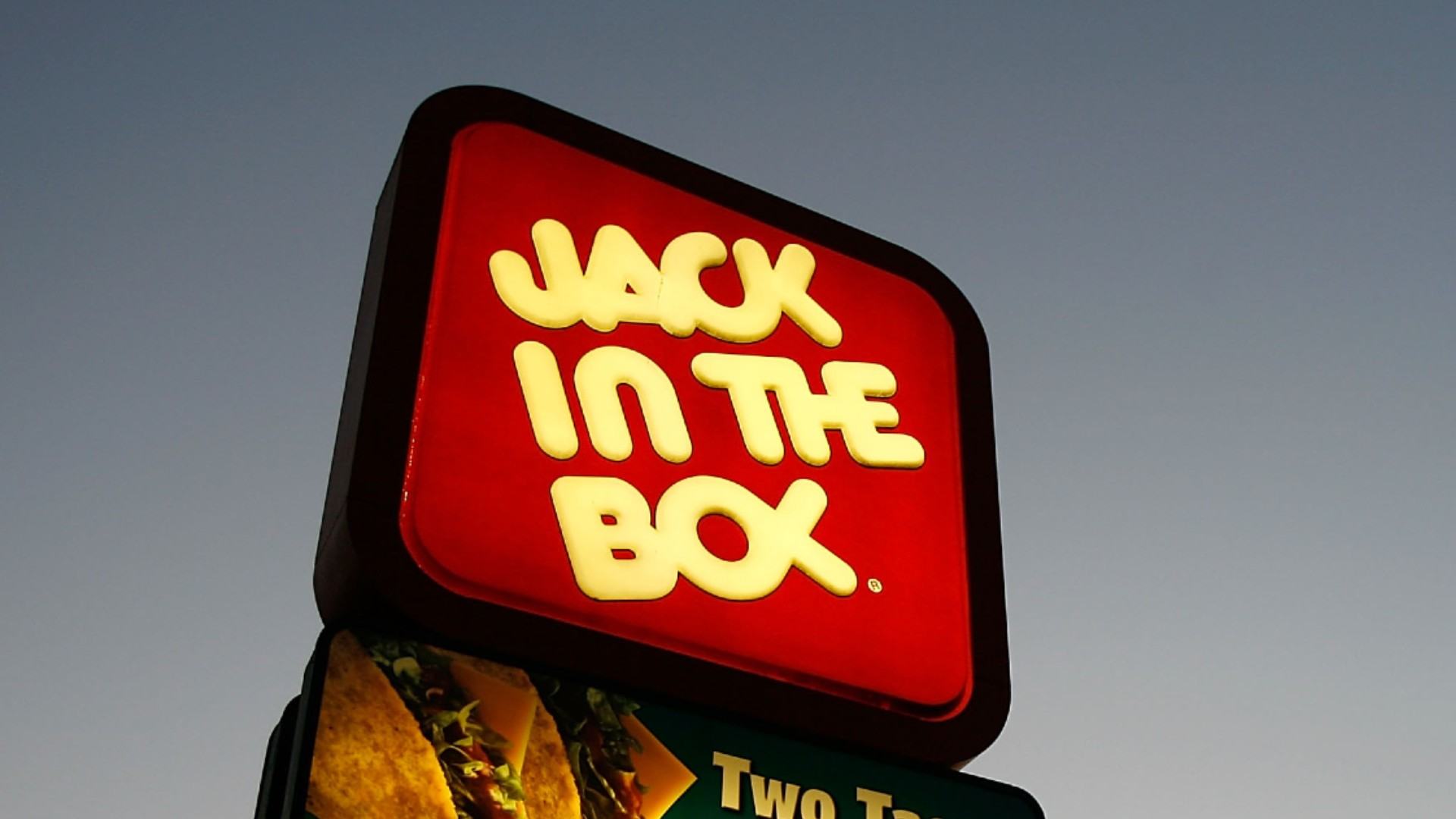 A Jack in the Box sign is seen in a file photo. (David McNew/Getty Images)