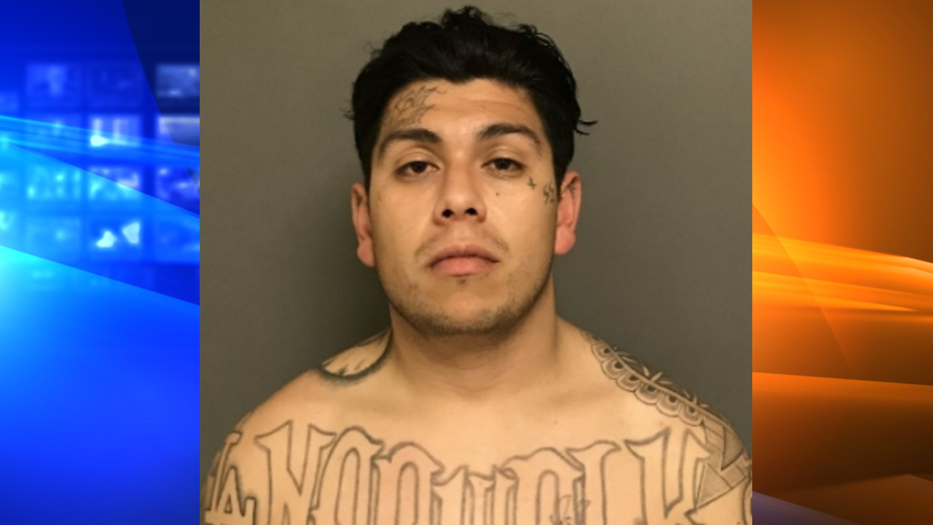 Daniel Ramirez, 28, is seen in a booking photo released by Irvine police on April 29, 2021.