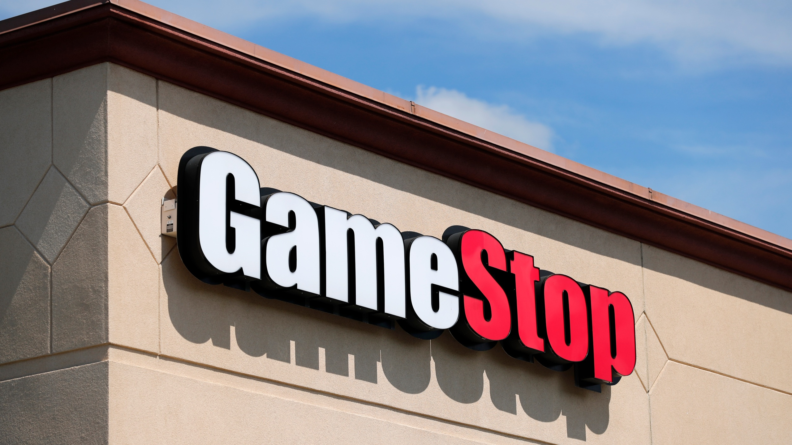 In this May 7, 2020 file photo, a GameStop store is seen in St. Louis. (AP Photo/Jeff Roberson, File)