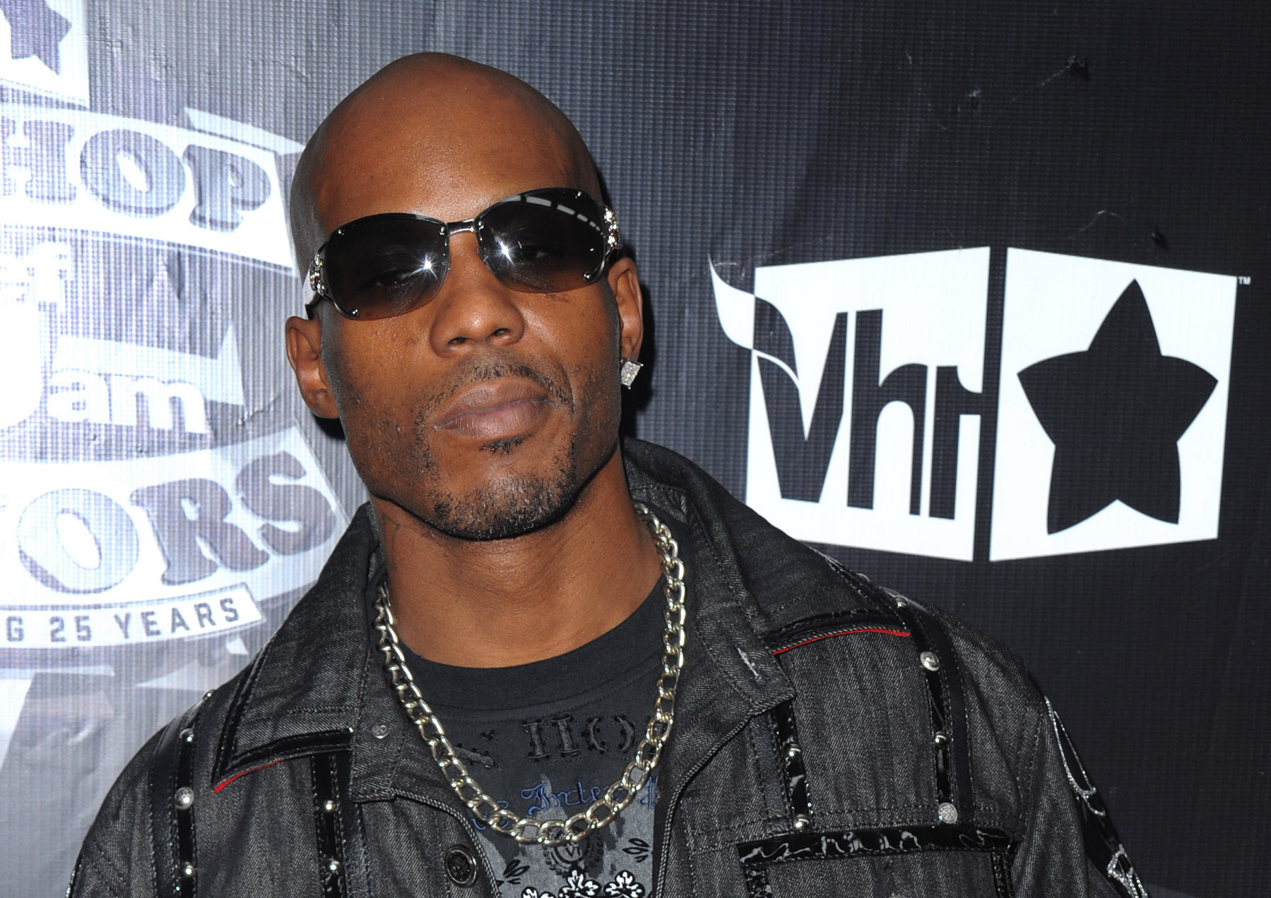 """In this Sept. 23, 2009, file photo, DMX arrives at the 2009 VH1 Hip Hop Honors at the Brooklyn Academy of Music, in New York. DMX's longtime New York-based lawyer, Murray Richman, said the rapper was on life support Saturday, April 3, 2021 at White Plains Hospital. """"He had a heart attack. He's quite ill,"""" Richman said. (AP Photo/Peter Kramer, File)"""