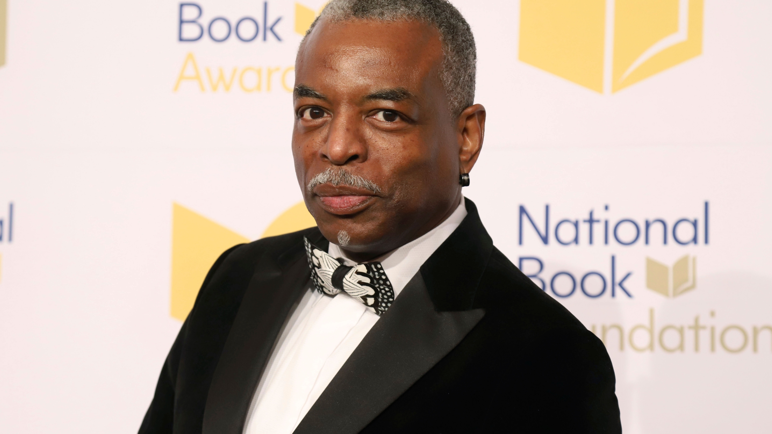 "LeVar Burton attends the 70th National Book Awards ceremony in New York on Nov. 20, 2019. Burton will serve as guest host on the game show ""Jeopardy!"" (Photo by Greg Allen/Invision/AP, File)"