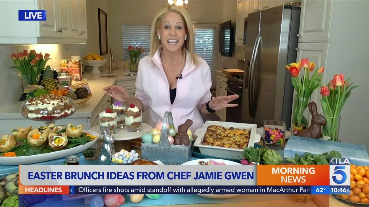 Chef Jamie Gwen shares Easter brunch ideas