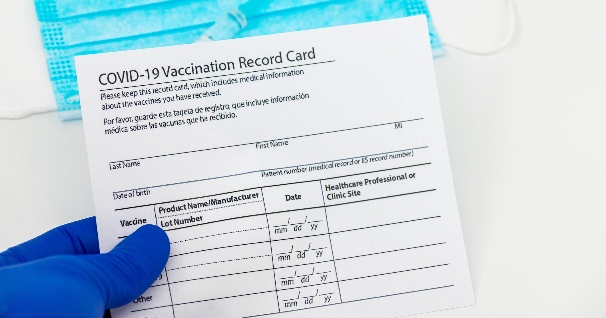 You may be jubilant after receiving the COVID-19 vaccine -- but don't post your vaccination card on social media sites. (File/Getty)