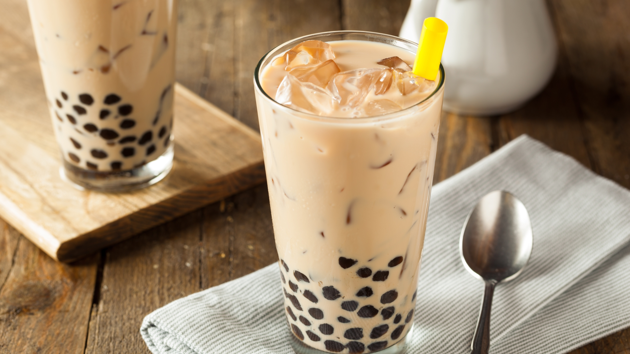 Homemade milk bubble tea with boba is seen in a file image. (iStock / Getty Images Plus)