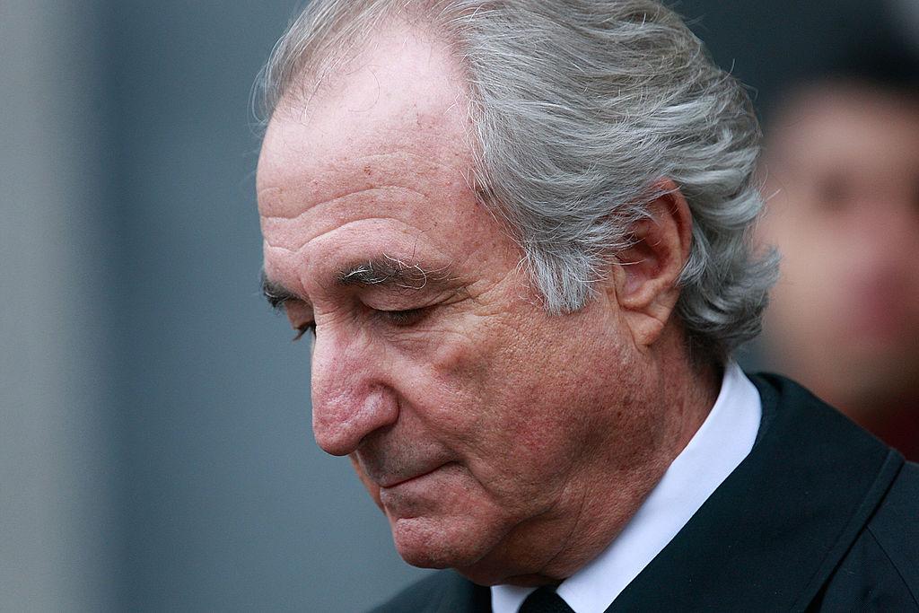 Financier Bernard Madoff leaves Manhattan Federal court March 10, 2009 in New York City. (Mario Tama/Getty Images)