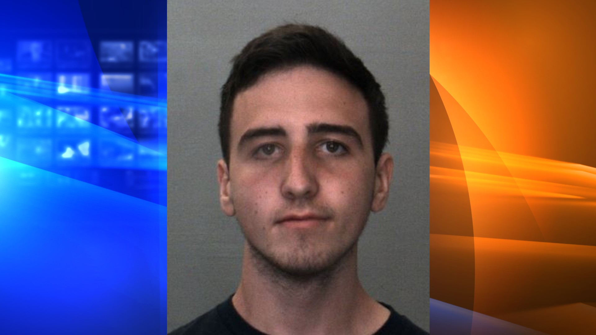 Jacob Wright is seen in a booking photo released by the San Bernardino County Sheriff's Department.