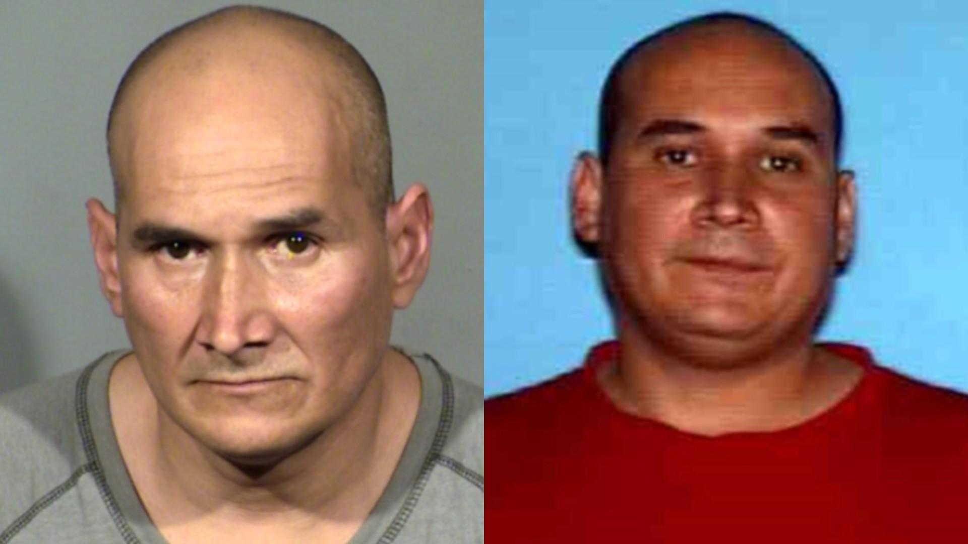 LAPD released these photos of Juan Ramon Sanchez.