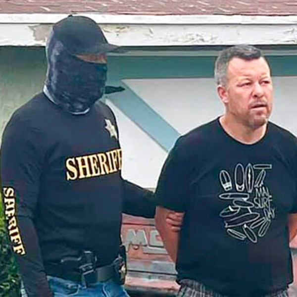 This photo provided by the San Luis Obispo County Sheriff's Office shows suspect Paul Flores who was taken into custody in the San Pedro area of Los Angeles on Tuesday, April 13, 2021, for the murder of Kristin Smart. (San Luis Obispo County Sheriff's Office via AP)