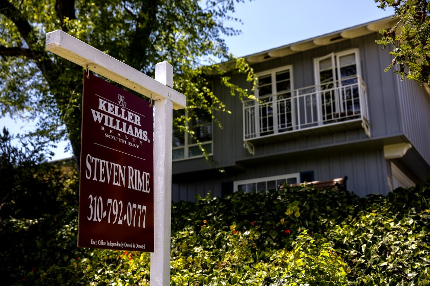 Southern California home prices rose by double digits in March for the eighth straight month.(Jay L. Clendenin / Los Angeles Times)